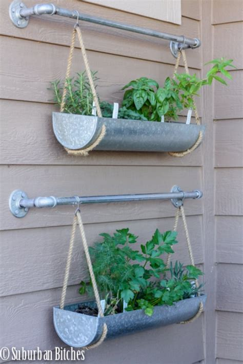 diy hanging herb garden 36 diys you need for your garden page 3 of 7 diy joy