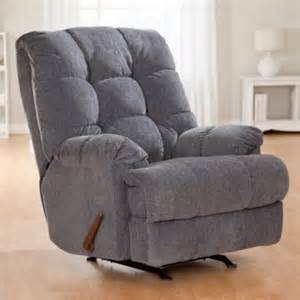 berkline stafford blue rocker recliner recliners at