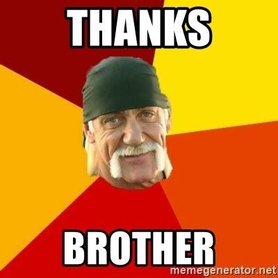 Thanks Buddy Meme - thanks brother hulk hogan meme generator