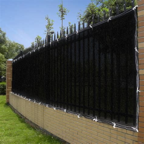 Sichtschutz Stoff Zaun by 25ft 50ft Privacy Screen Mesh Fence Cover Windscreen