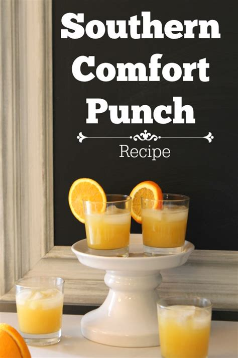 southern comfort fruit punch 25 summer cocktails oh my creative