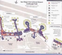 San Diego Airport Map by San Diego Airport Map Related Keywords Amp Suggestions San