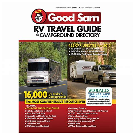 the sam rv travel savings guide sams rv travel guide cground directory books sam rv travel guide cground directory 425750