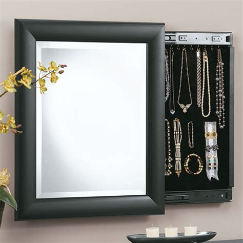 Hooker Bedroom Furniture decorative wall mirror and jewely organizer in jewelry