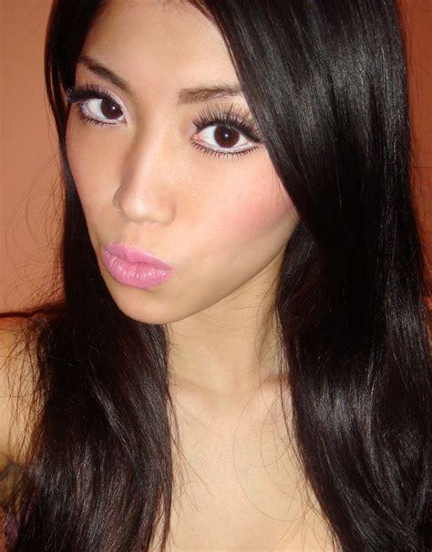 Miss Eye Modern Doll Black 182mm Softlens black makeup look style by modernstork