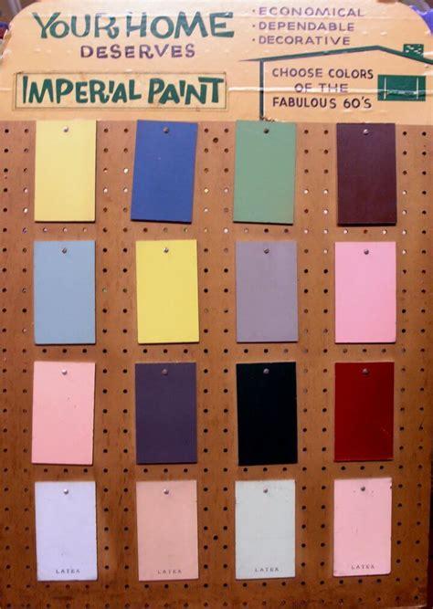 paint colors retro renovation