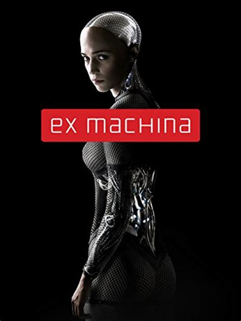 ex machina ex machina blu ray dvd cover label 2015 custom art
