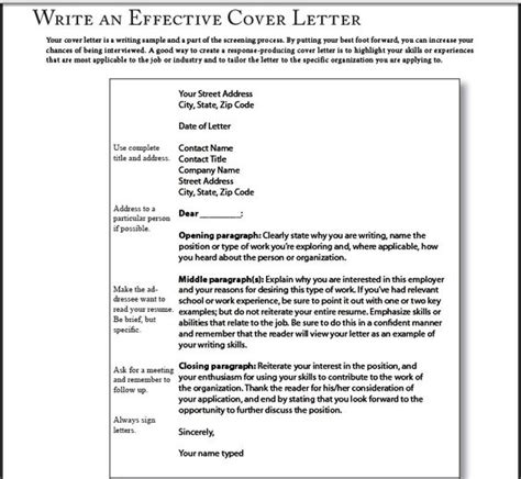 succesful cover letters successful cover letter sles