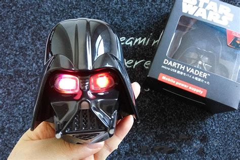Powerbank Darth Vader 12000mah genuine darth vader mask power bank 12000mah wars