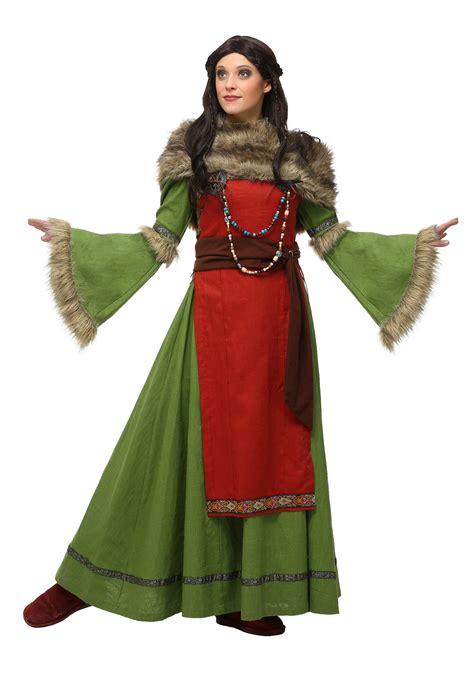 s peasant viking costume