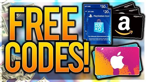 Free Gift Cards Codes - how to get free gift card codes no scam ultimate hack free amazon itunes google