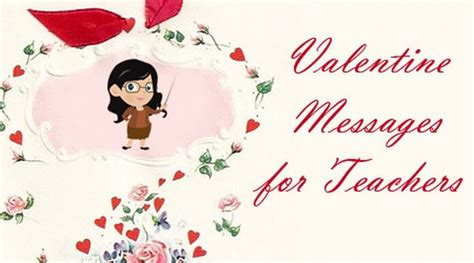 valentines card for teachers messages messages for teachers