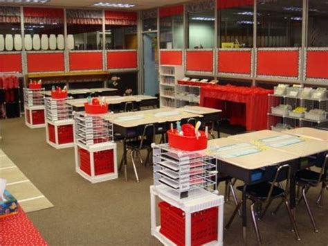 Classroom Desk Organization by Definitely Organized The Organization Idea At Each