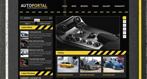 Auto Portale by Auto Portal Template