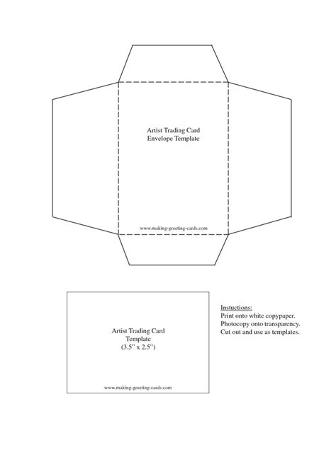 18 Best Envelope Templates Images On Pinterest Envelope Templates Envelopes And Packaging Card Envelope Template