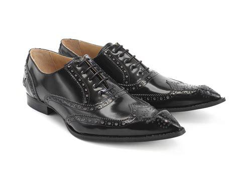 fluevog shoes fluevog shoes shop malvern black bumped toe brogue