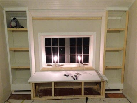 how to build a window seat with bookshelves window seat with bookshelves american hwy