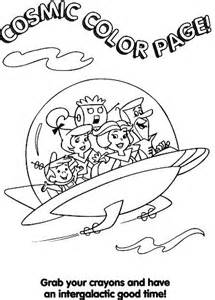 jetsons coloring book ufopop flying saucers in popular culture merchandising