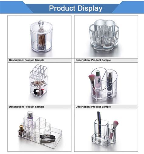 Acrylic Akrilik Tempat Make Up Organizer Dx2 2016 new unique design rotating acrylic lipstick holder makeup organizer display buy