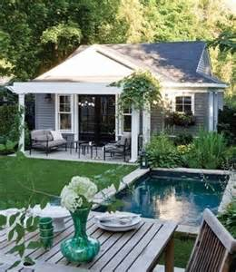 Backyard Pool House Stunning Backyard Pools And Landscaping Ideas Just Need