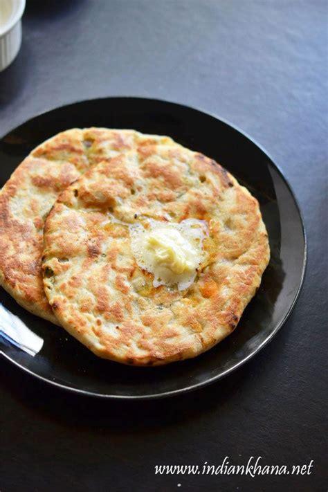 soft restaurant style paneer kulcha indian flatbread