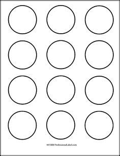 1 Inch Circle Template Printable And Many Other Sizes Bottle Cap Images Pinterest 1 Inch Sticker Template
