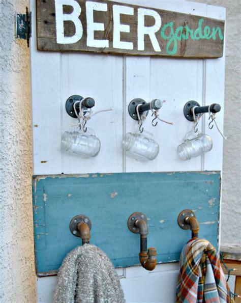 bier im garten oktoberfest inspirierte dekorationen