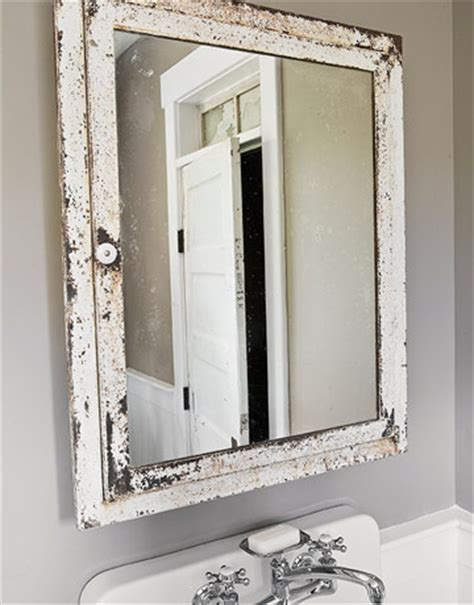 vintage bathroom mirror diy shabby chic bathroom accessories rustic crafts