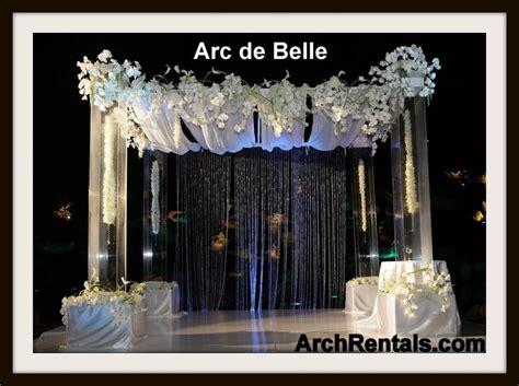 wedding arch rental az acrylic wedding chuppah altar lucite chuppa rentals los