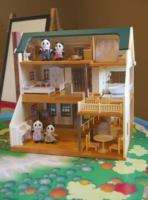 calico critters doll house a blushing thomas table simply organized