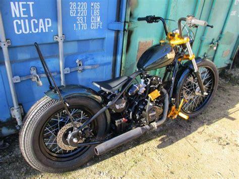 Motorrad 125 Ccm Welcher Führerschein by Bobber 125 Ccm Custom Puch Bei Hallein