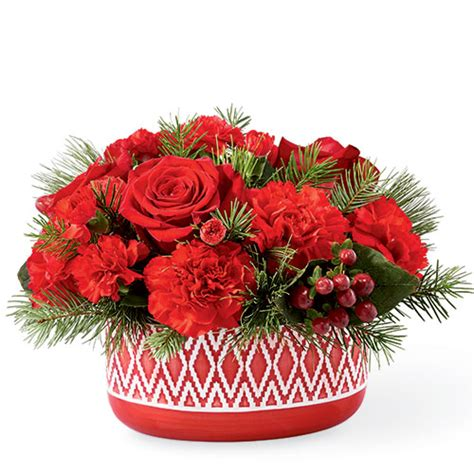ftd cozy comfort bouquet   ftd christmas flowers  ital