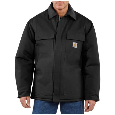 carhartt coat s carhartt 174 duck traditional coat 227115 insulated jackets coats at