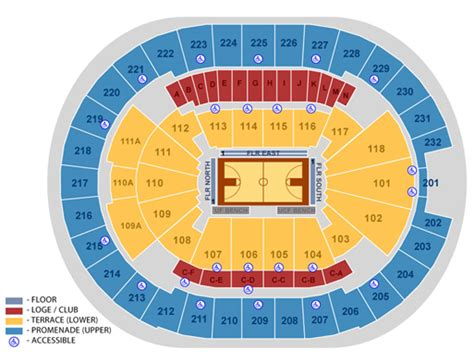 House Plan Blueprints by Seating Maps Amway Center