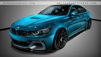 duke dynamics teases bmw 4 series gran coupe aero kit