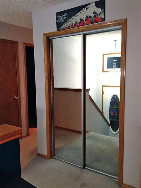 home decor innovations sliding mirror doors mirror closet doors how to repurpose mirrored closet doors
