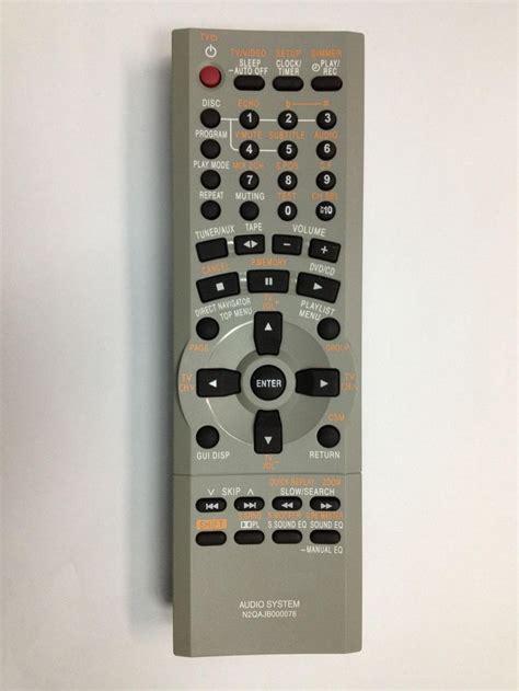 Remote Dvd Panasonic N2qahc000021 Original n2qajb000076 panasonic original remote we offer