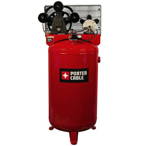 shop porter cable porter cable 80 gallon electric vertical standard 71 decibel or above air