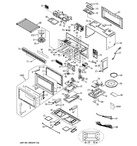ge spacemaker microwave parts diagram ge spacemaker microwave parts diagram 28 images i an