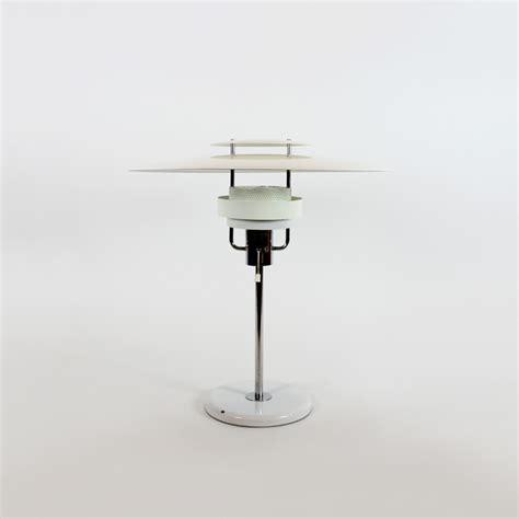 lampara de mesa estilo poulsen suecia anos  tiempos