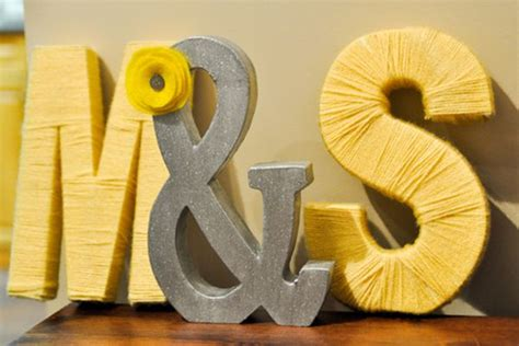 Ys To Diy Initials