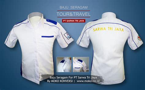 Kaos Seragam Resto Kaos Seragam Pt Koas Seragam Event pakaian seragam pt sarwa tri jaya tour travel