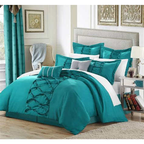 turquoise bedroom romantic comforter sets cute queen adult king size bed