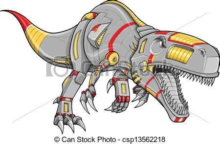 Home Design Sketch Free by Vector Clip Art Of Robot Cyborg T Rex Dinosaur Csp13562218