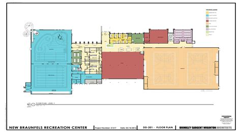 recreation center floor plan community recreation center floor plans thefloors co
