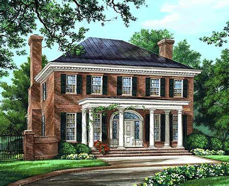 Georgian Colonial House Plans by Plan 32590wp Majestic Traditional Home Plan Bonus Rooms