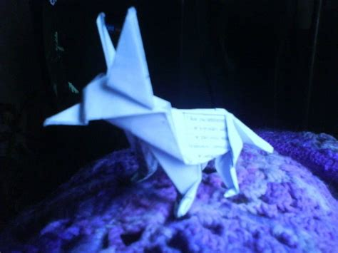 How To Make A Paper Wolf - origami wolf 183 an origami 183 origami on cut out