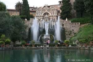 tivoli villa d hadrien villa d este et villa gregoriana