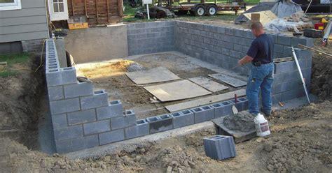 build  cinder block storage shed tutorial shed