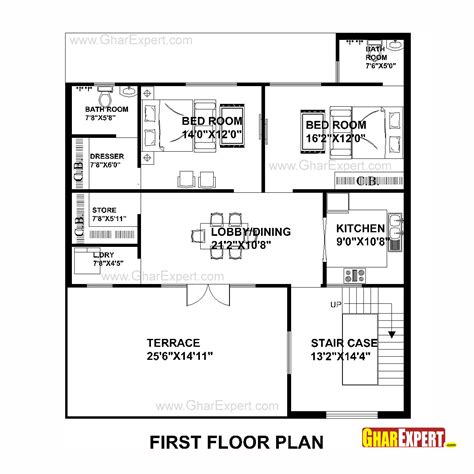 50 square yard home design house plan for 40 feet by50 feet plot plot size 222